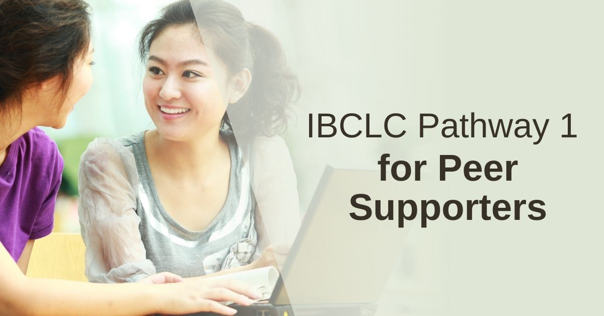 How to become a lactation consultant (IBCLC): Pathway 1 for Peer Supporters
